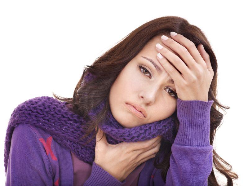 Если беременная простыла и болит горло что делать