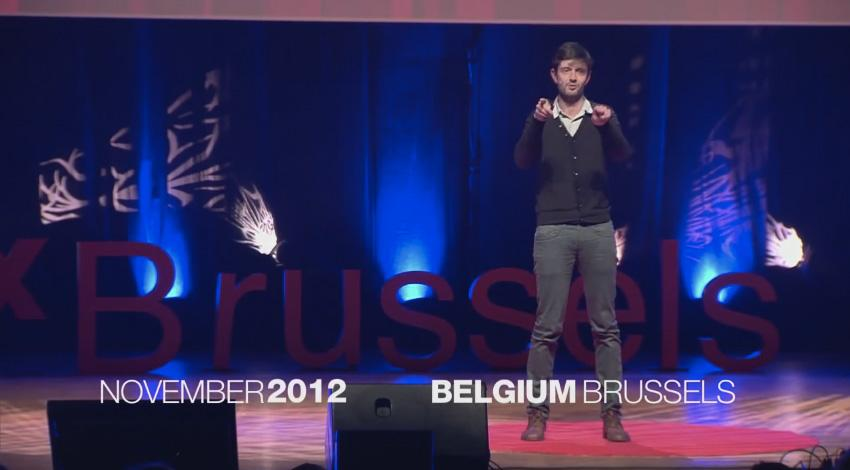 Jeroen Raes at TEDxBrussels. The gut flora: You and your 100 trillion friends.